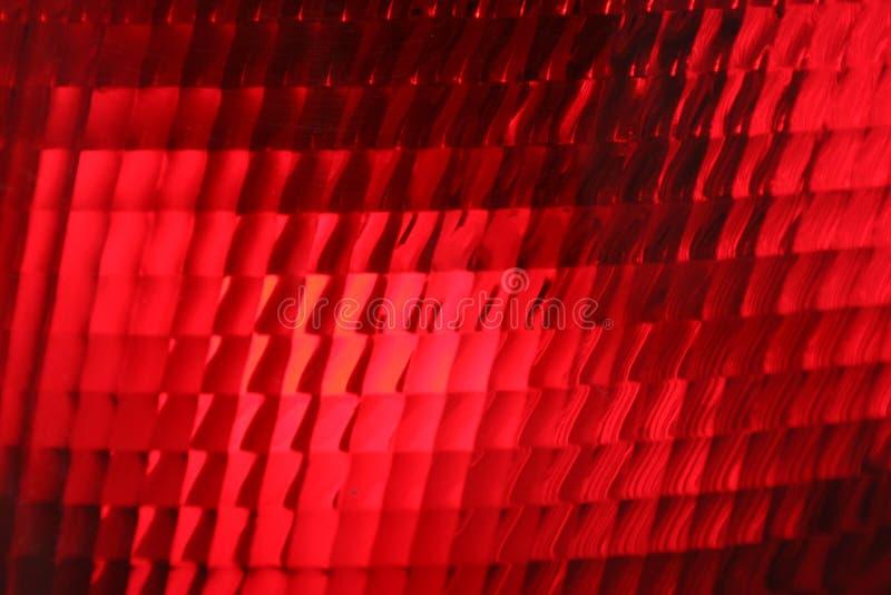 Rote Endleuchte, Abschluss oben lizenzfreies stockfoto