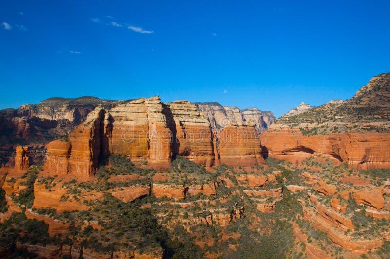 Rote Felsen, Sedona Arizona lizenzfreie stockfotos