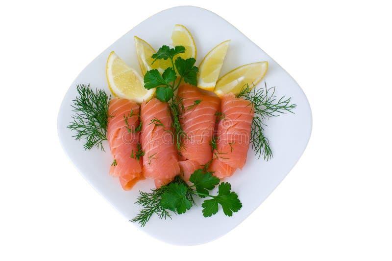 Rote Fische, Lachse lizenzfreie stockfotografie