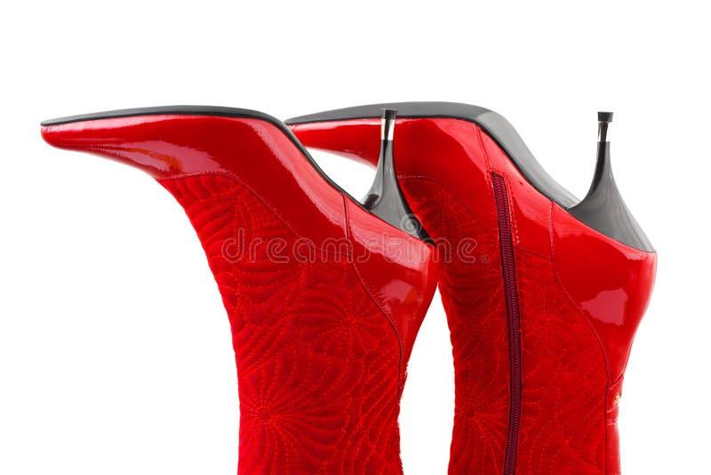 Rote Frauenmatten lizenzfreies stockfoto