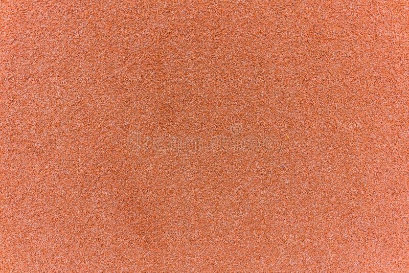 Rote Fußmattenbeschaffenheit der natürlichen Faser der Coir für Hintergrund lizenzfreie stockfotos