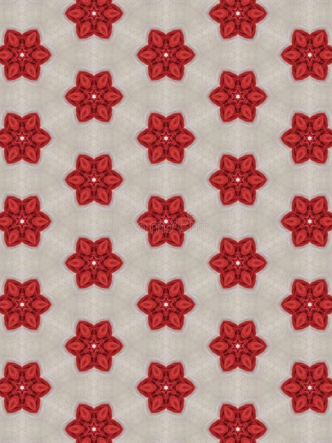 Rote Grafikblume des Hintergrundes lizenzfreies stockfoto