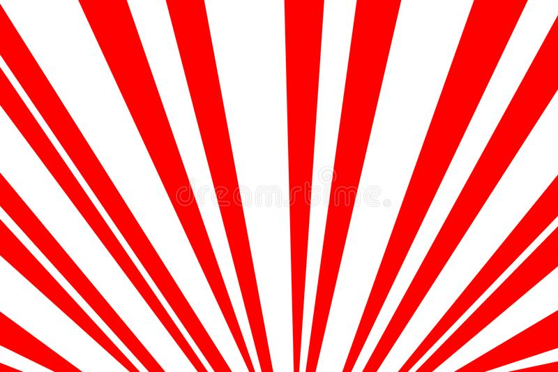 Rote Hintergrundillustration Sun lizenzfreie stockfotos