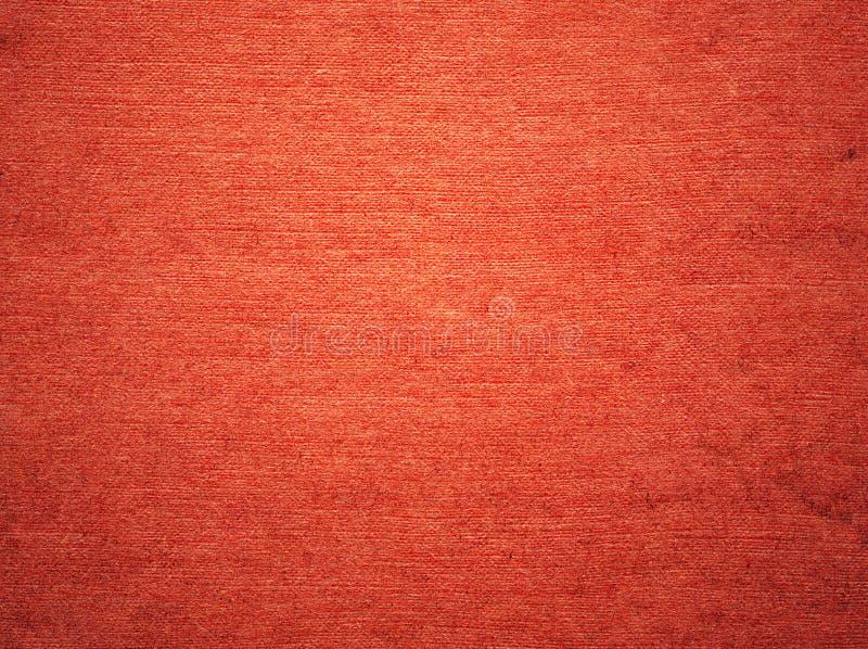 Rote körnige Papierbeschaffenheit stockbild