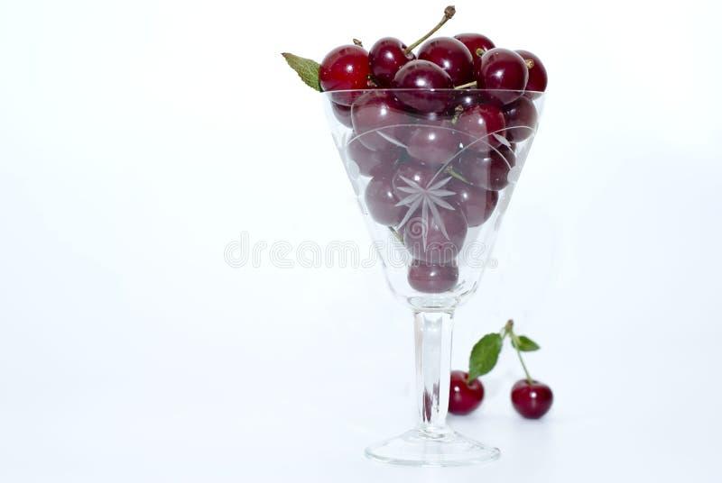 Rote Kirsche lizenzfreies stockfoto