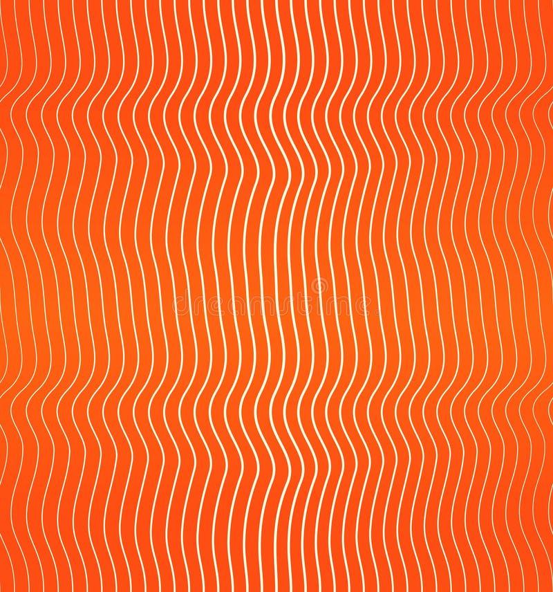 Rote Lachsnahtlose Hintergrundbeschaffenheit des fleischschnittes stock abbildung
