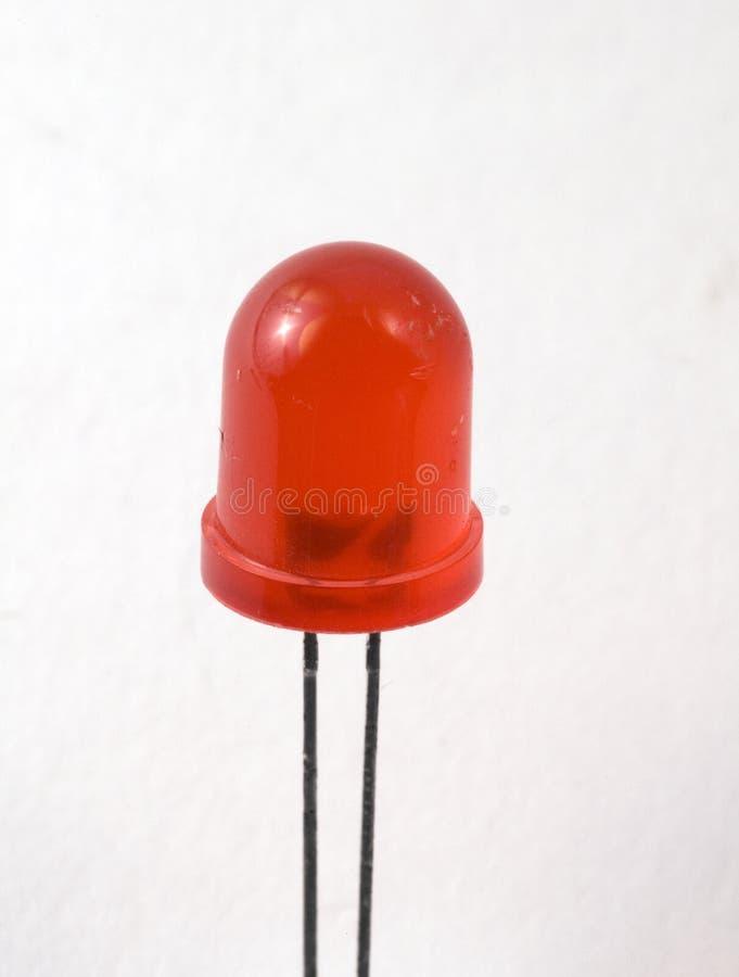 Rote LED stockbild. Bild von leuchte, elektrisch, ausbildung - 4682567