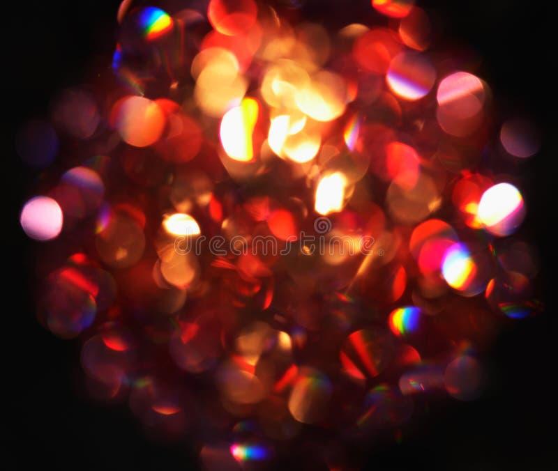 Rote Leuchten. stockfoto