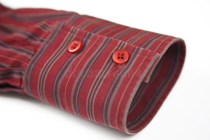 Rote Manschette lizenzfreies stockfoto