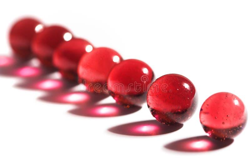 Rote Marmore lizenzfreies stockbild