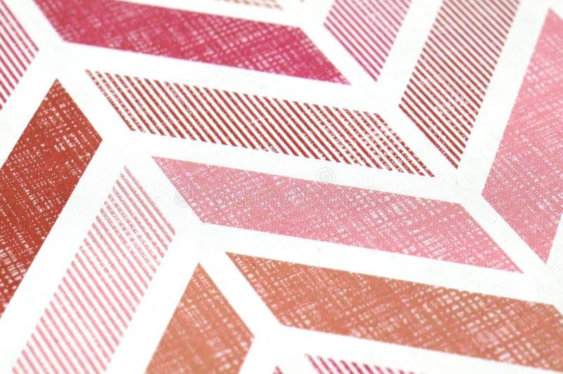 Rote Musterlinien lizenzfreie stockbilder