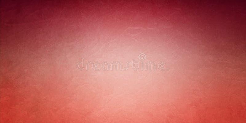 Rote Orange- und Korallenhintergrundfarben mit schwarzem Schattenrand, elegante, weiche Vintage-Textur lizenzfreie stockfotografie