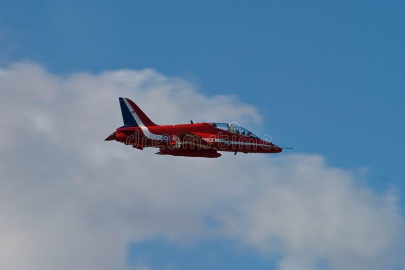 Rote Pfeil-Flugzeug-Anzeige Team Fairford Air Show RAF Airport stockbilder