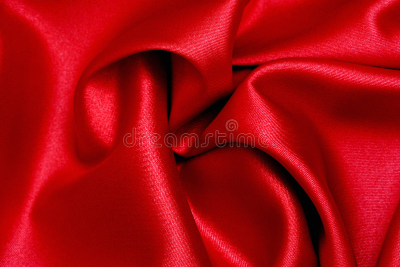 Rote Satin-Welle lizenzfreies stockbild