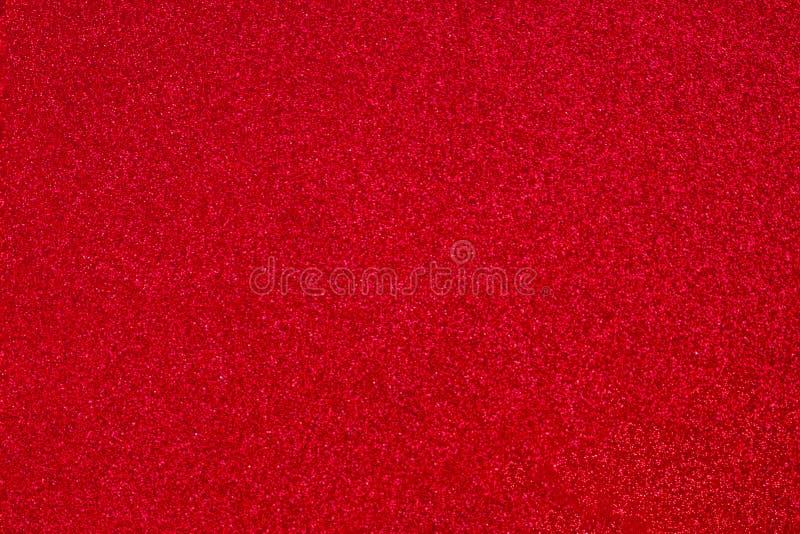 Rote Schein-Tapete für Valentinsgruß-Tag und Weihnachten Dunkelroter abstrakter Funkeln Hintergrund für Gruß- und Hochzeitseinlad lizenzfreie stockfotos