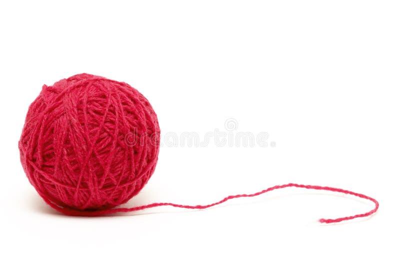 Rote Schlaufe stockfoto