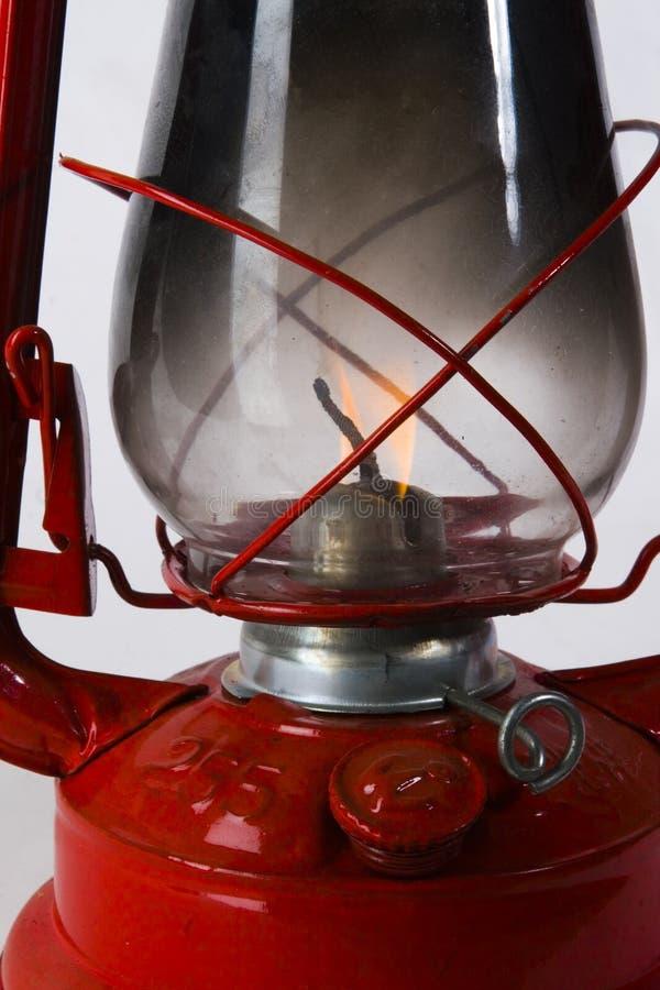 Rote Schmieröl-Lampe stockfoto