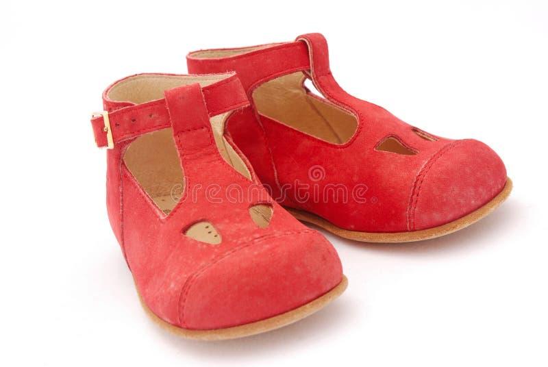 Rote Schuhe stockfoto