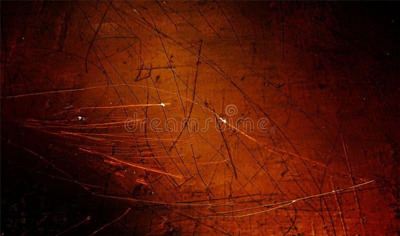 Rote, schwarze und orange schattierte Wand maserte Hintergrund Papierschmutzhintergrundbeschaffenheit Eine Abbildung einer Batika stockbild