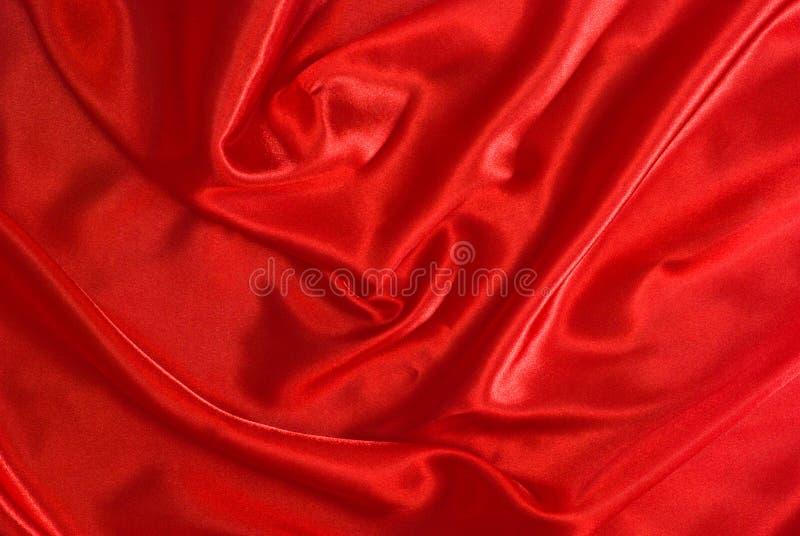 Rote Seide stockbild
