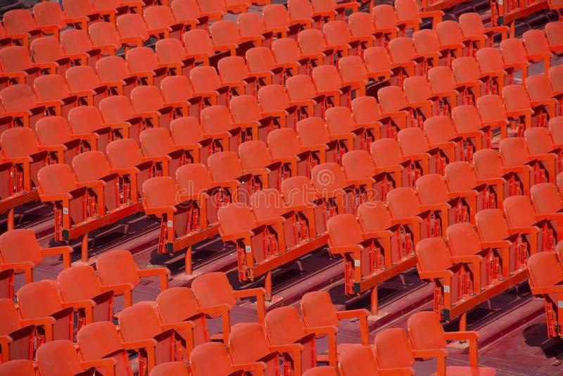 Rote Sitze lizenzfreie stockfotografie