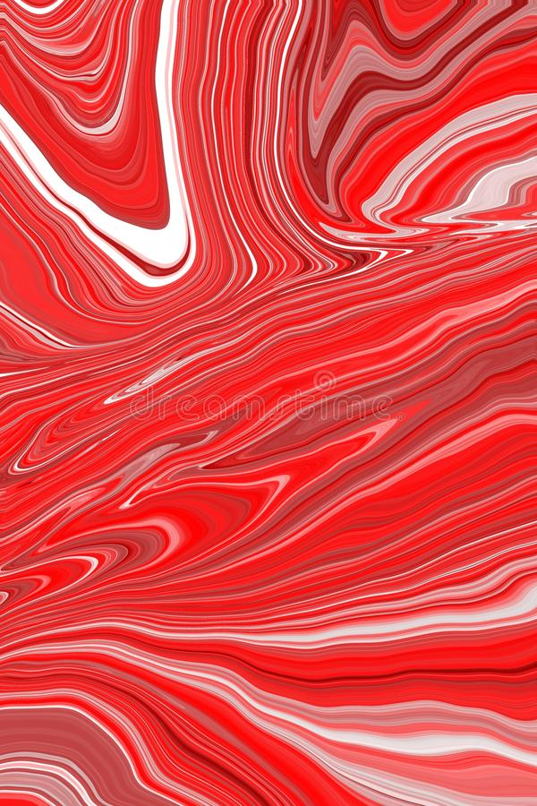 Rote Steigungsillustration Gut f?r Fahnen, Grafiken Helle M?dchen- oder Frauenkarte F?r Ikone Logo, Gesch?ft Art und Weiseart str vektor abbildung