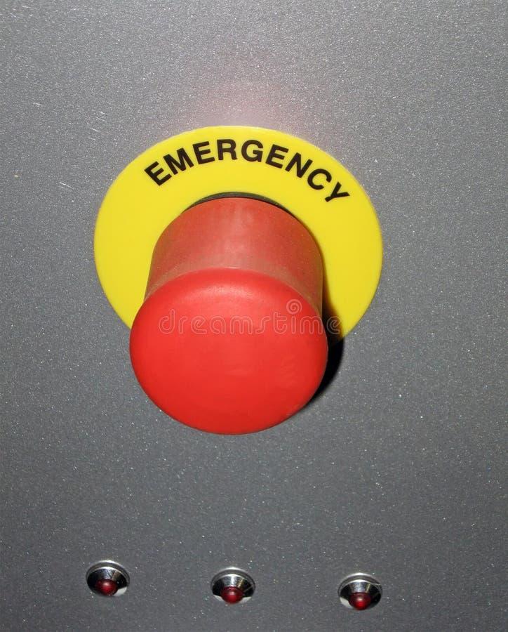 Rote Taste auf metallischer Oberfläche, Sicherheitskonzept, stockfotos