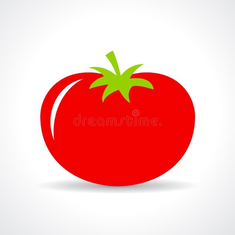 Rote Tomate vektor abbildung