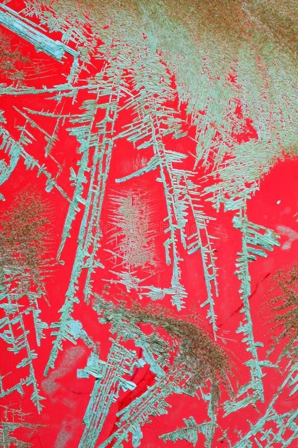 Rote und grüne Beschaffenheit stockbilder