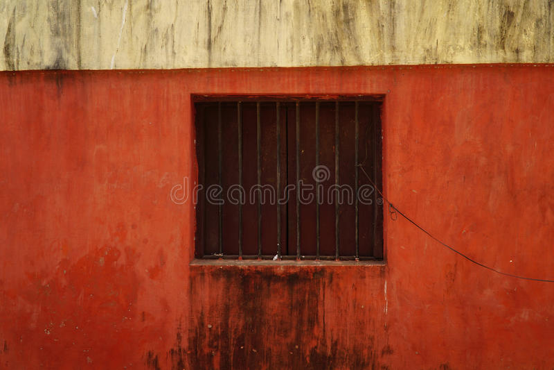 Rote Wand 1 stockfotografie