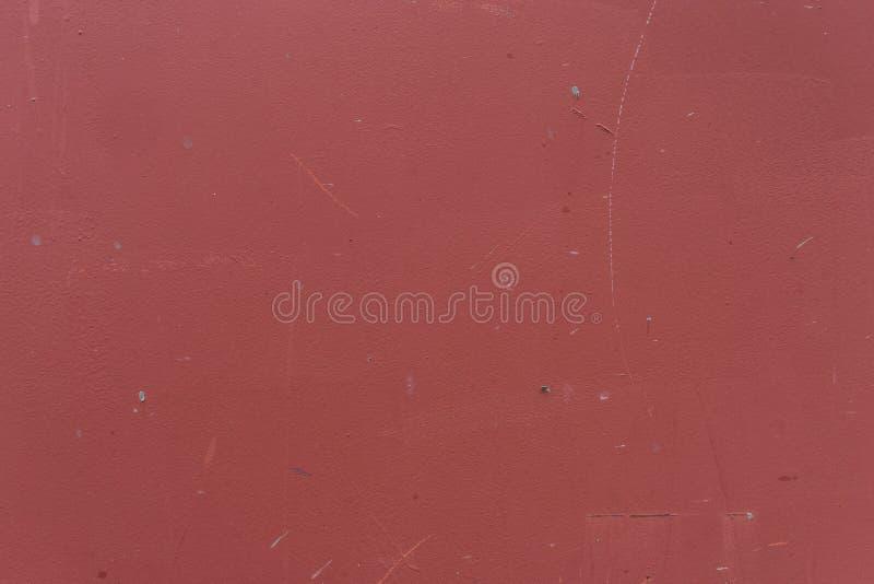 Rote Wand des Schmutzes - Beschaffenheit/Hintergrund der hohen Qualität lizenzfreie stockfotografie