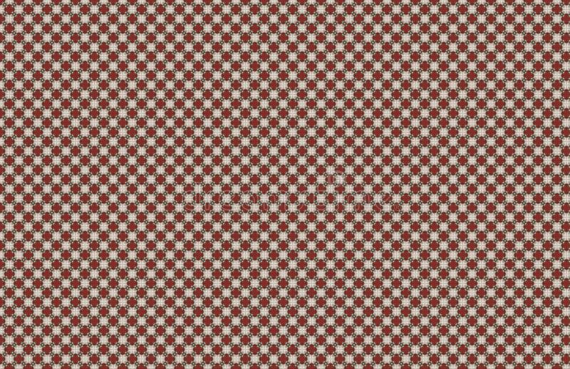 Rote wei?e nahtlose Zusammenfassungs-kleiner Muster-Entwurf lizenzfreie abbildung