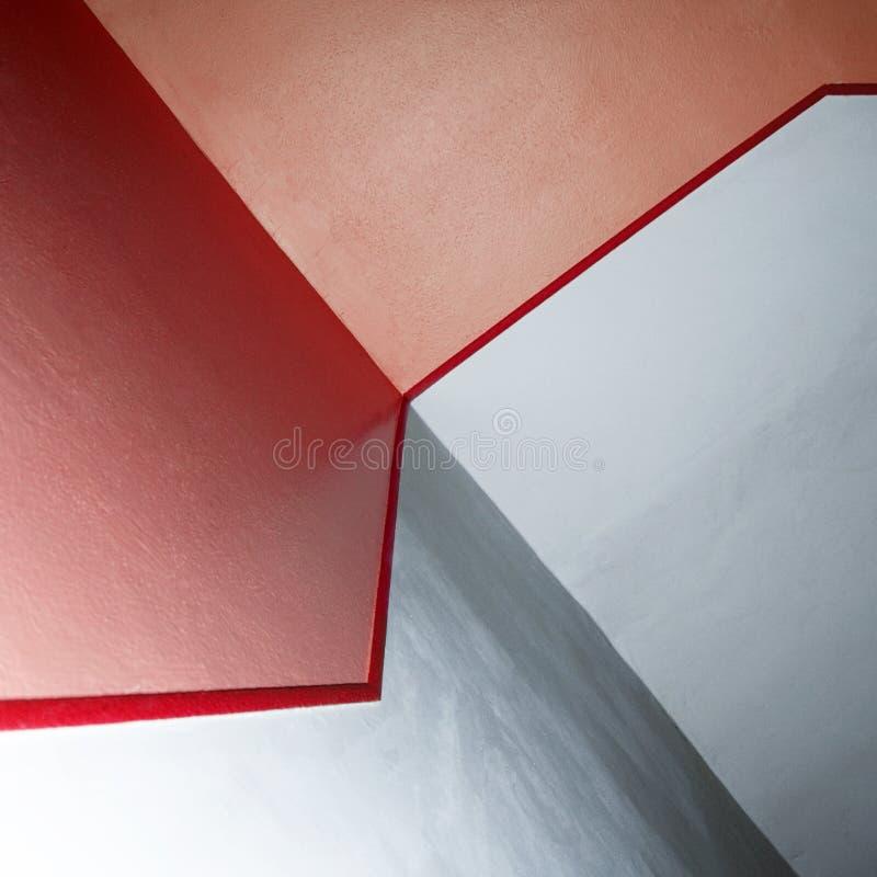 Rote Zeile stockfotografie