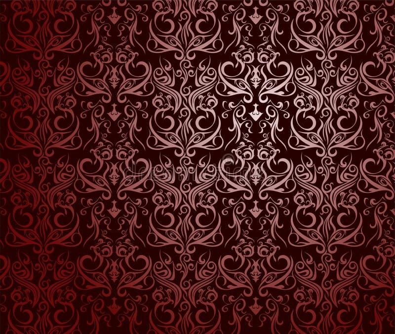 Rote Zusammenfassung der Tapete stockfotografie