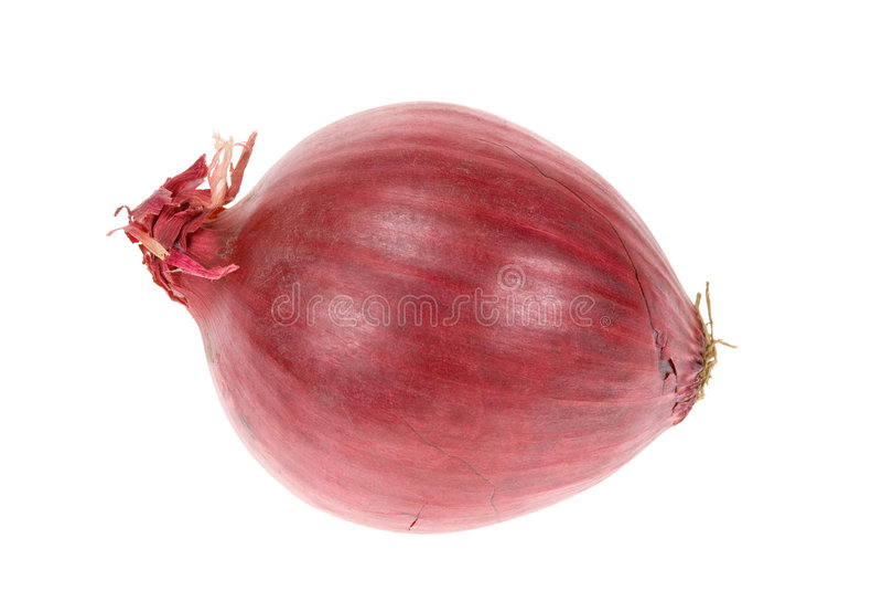 Rote Zwiebel stockfoto