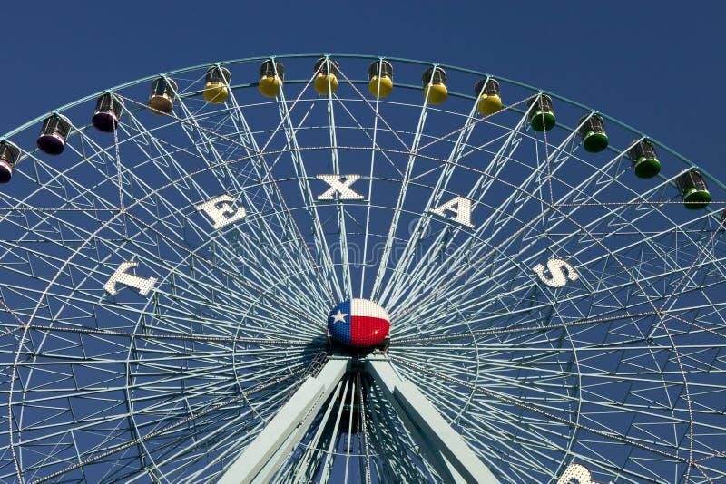 Rotella del Texas Ferris immagine stock libera da diritti