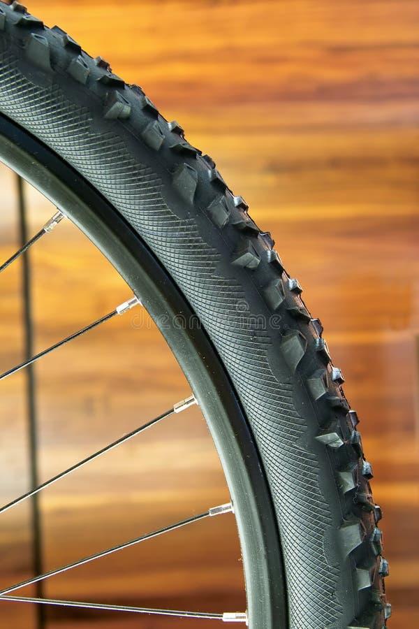 Rotella della bici di montagna immagine stock libera da diritti