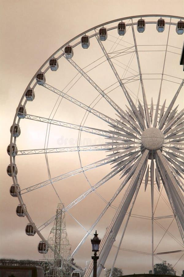Rotella di Ferris immagine stock