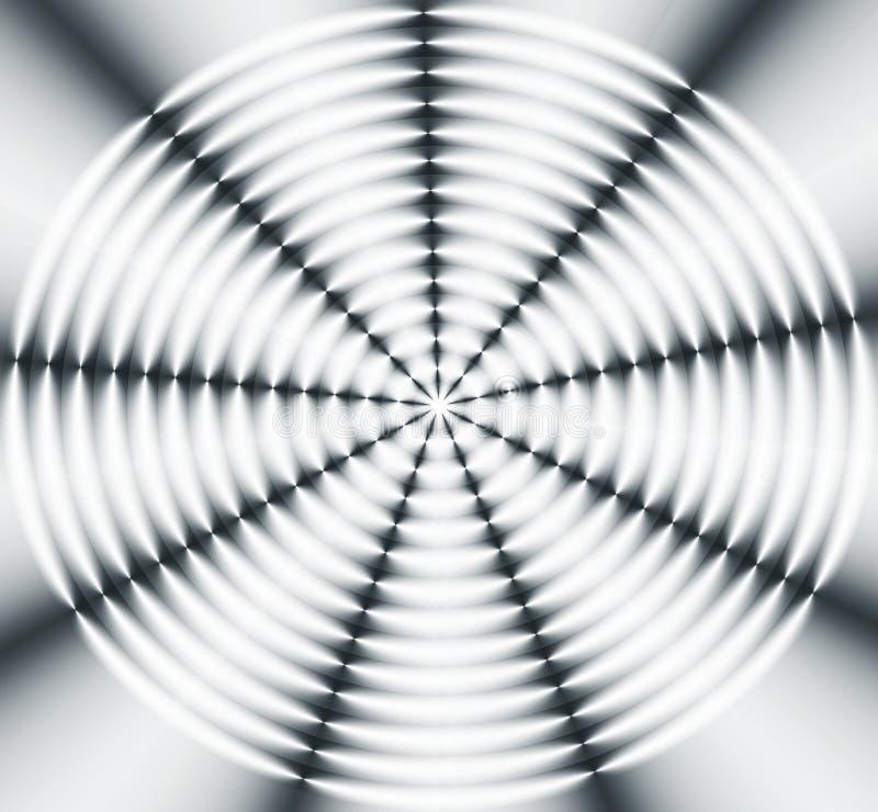 Rotella di indicatore luminoso illustrazione di stock
