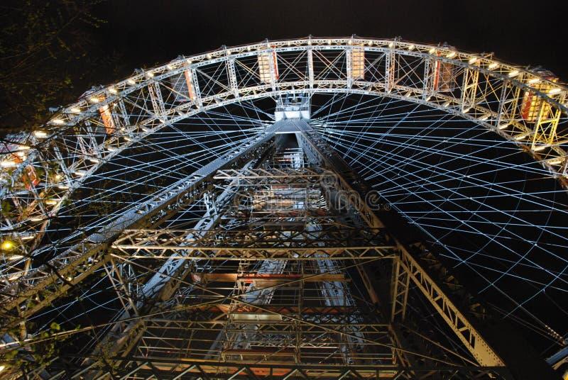 Rotella gigante di Prater Ferris, Vienna immagini stock