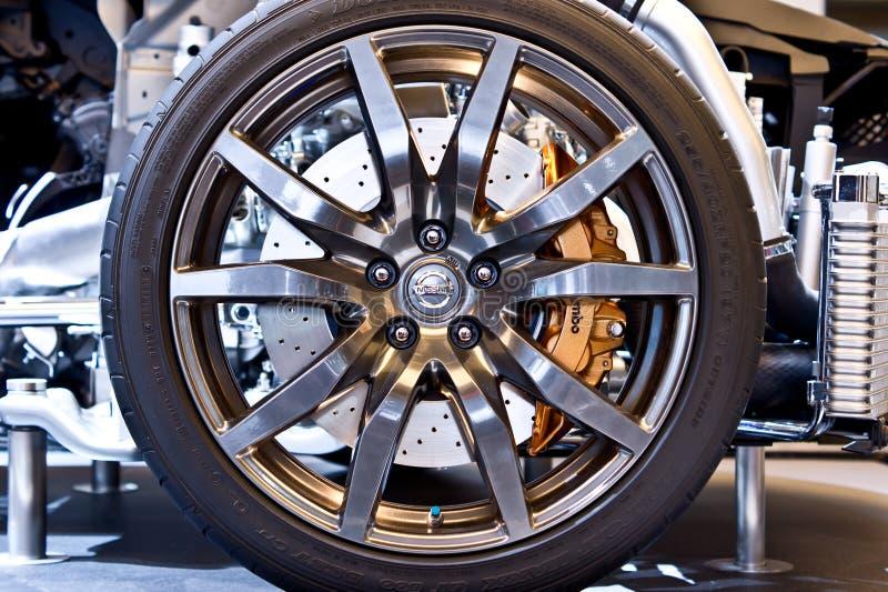 Rotella GT-R dei Nissan immagini stock