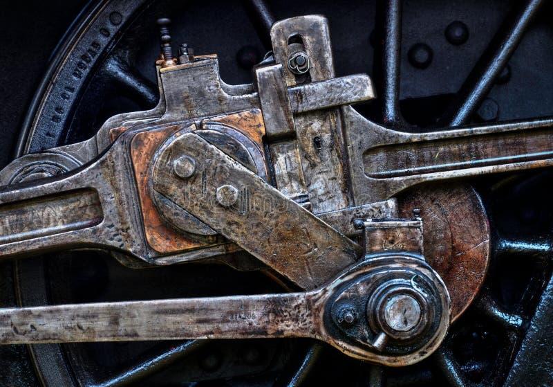 Rotella locomotiva fotografia stock libera da diritti