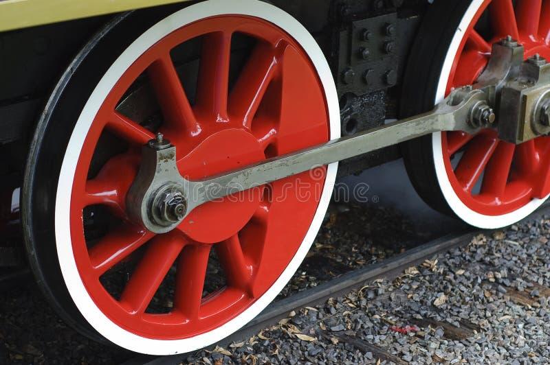 Download Rotelle Del Motore A Vapore Fotografia Stock - Immagine di ferro, macchina: 7315528