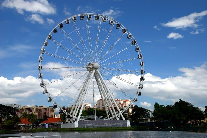 Rotelle di Ferris fotografie stock