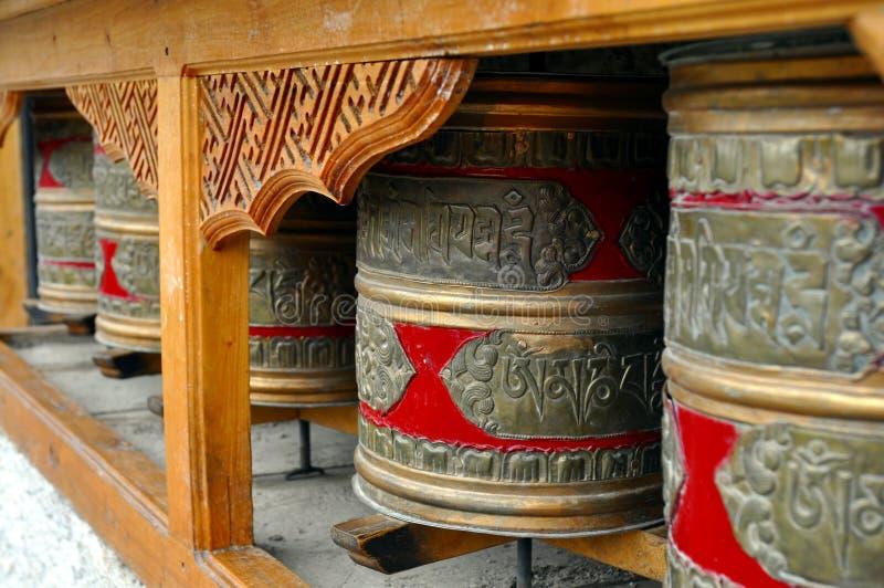 Rotelle di preghiera buddisti
