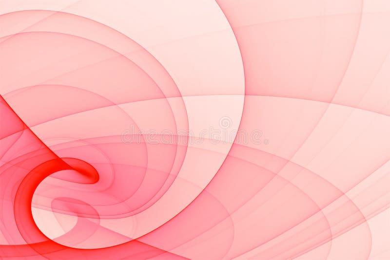 Roter abstrakter Hintergrund stock abbildung