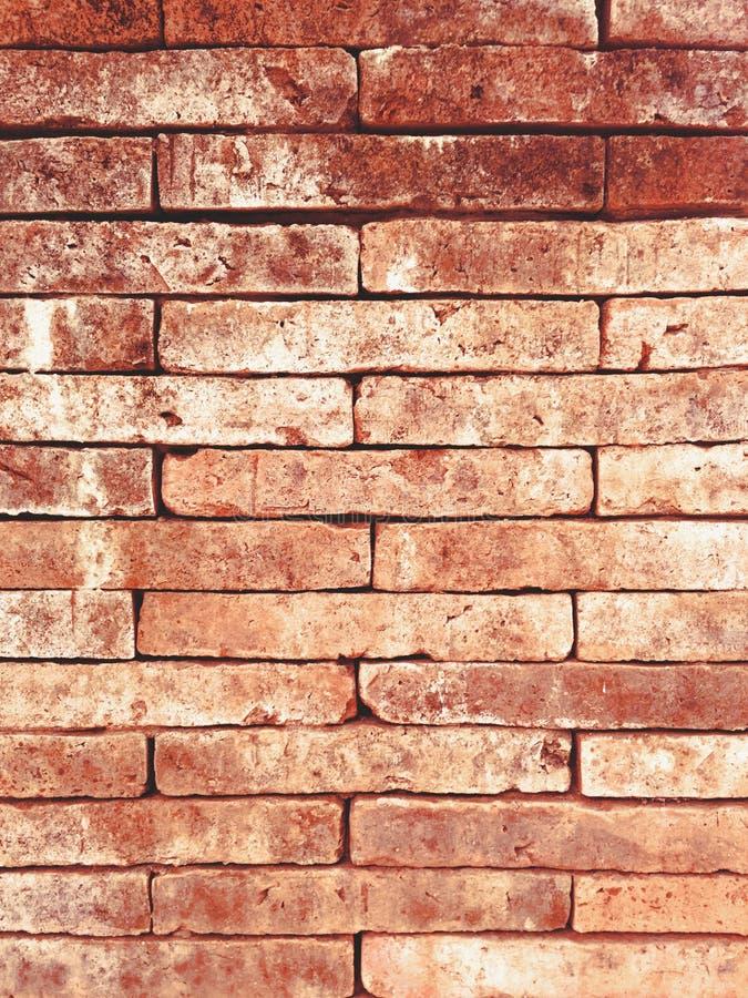 Roter alter Backsteinmauerbeschaffenheits-Schmutzhintergrund lizenzfreie stockbilder