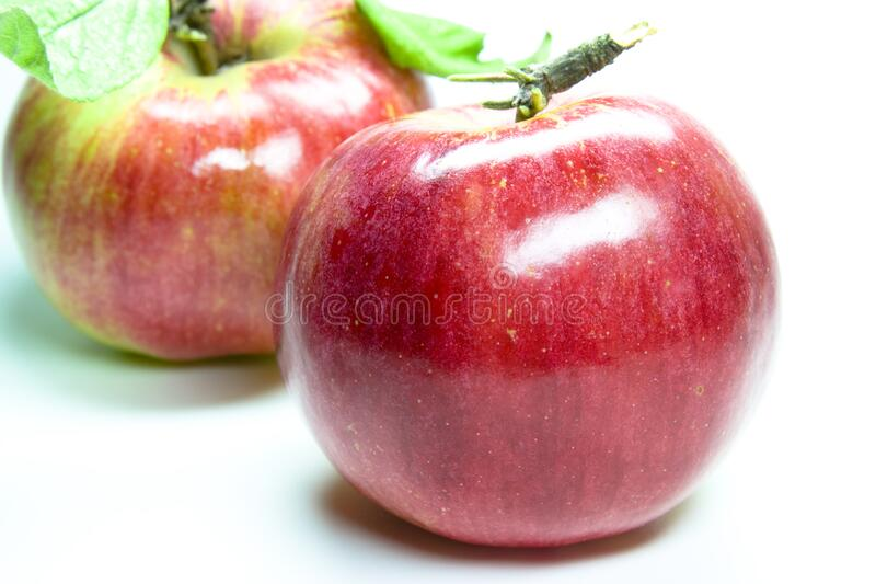 Red appel stock photos