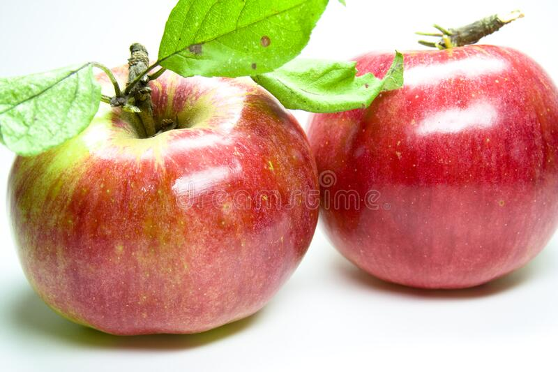 Roter Apfel stock photo
