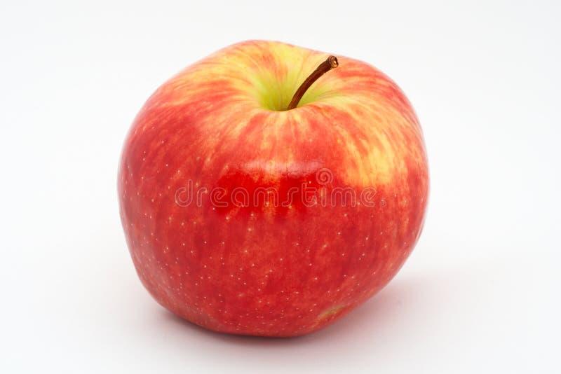 Roter Apfel getrennt lizenzfreie stockfotografie